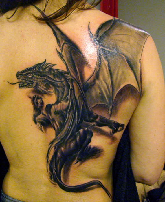 Attractive Dragon Tattoo Designs