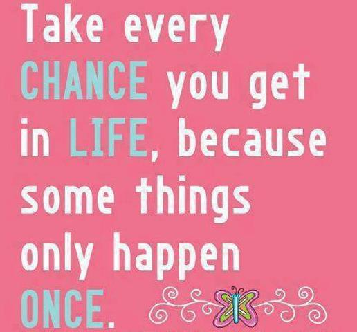 Awesome Chance Quotations