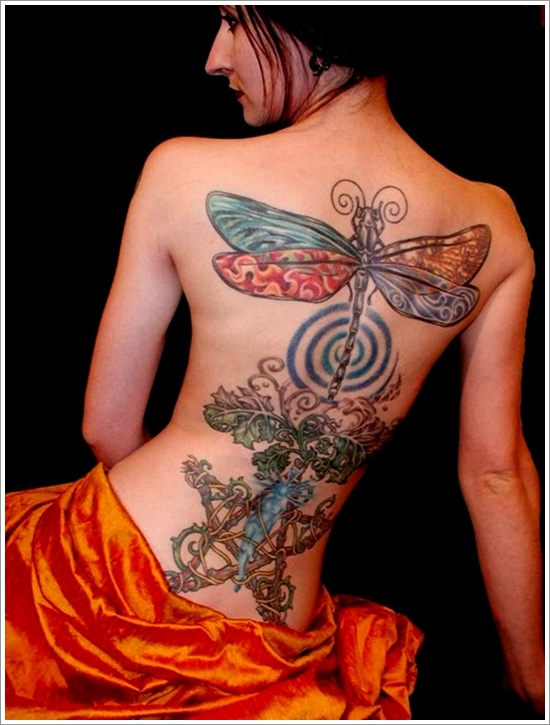 Awesome Dragonfly Tattoo Designs
