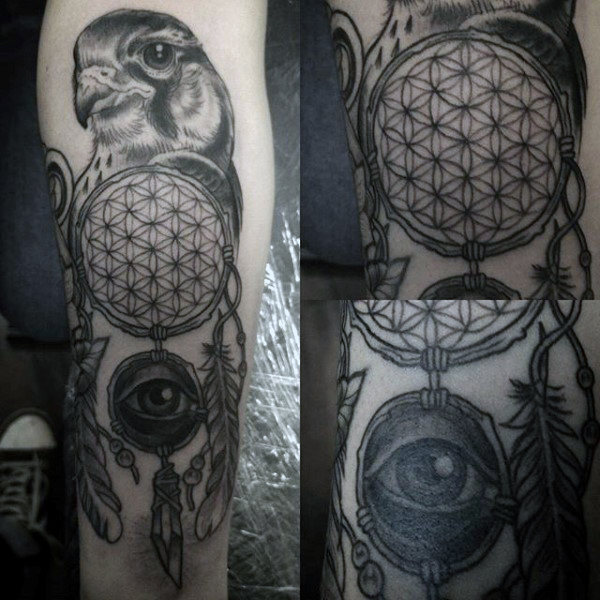 Awesome Dreamcatcher Tattoo Designs