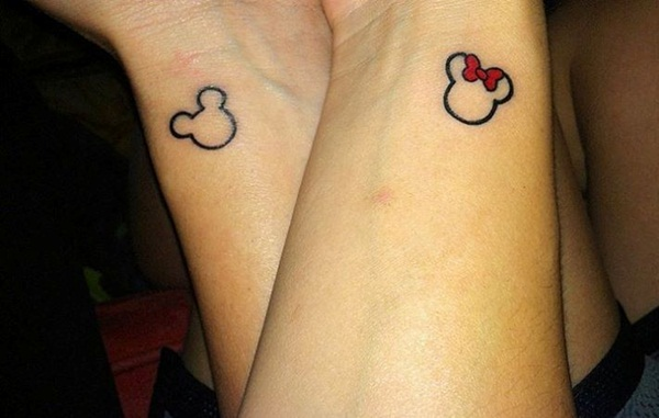 Beautiful Couple Tattoos Designs