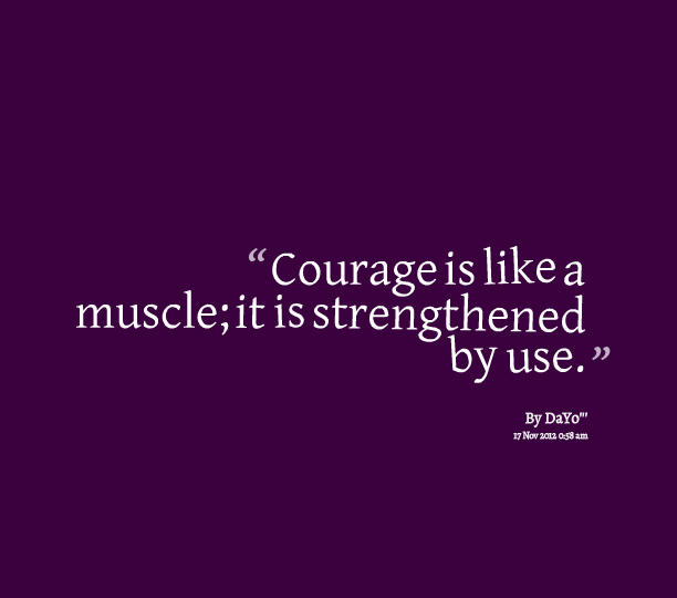 Best Courage Quotation