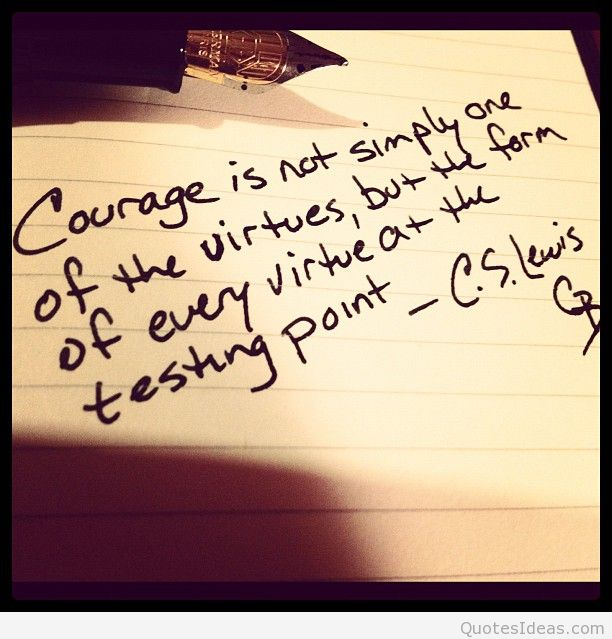 Best Courage Quotations