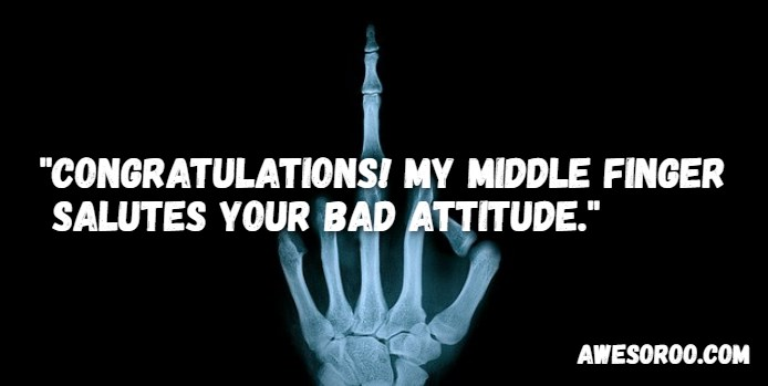 Brilliant Attitude Sayings and Quotations