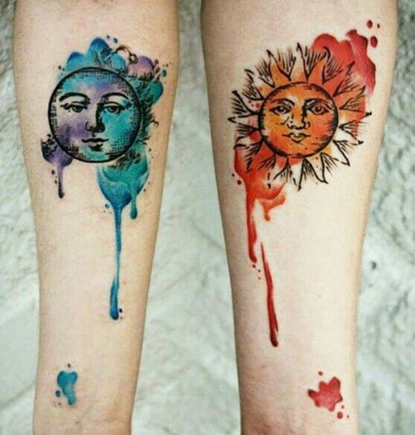 Brilliant Couple Tattoos Designs