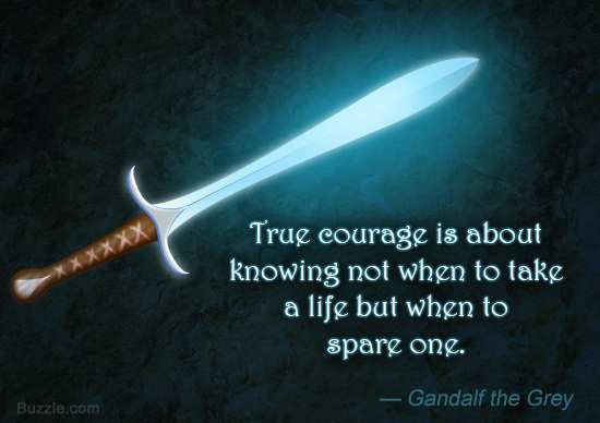 Brilliant Courage Sayings