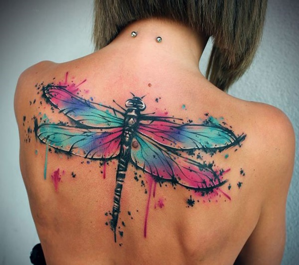 Brilliant Dragonfly Tattoo Design