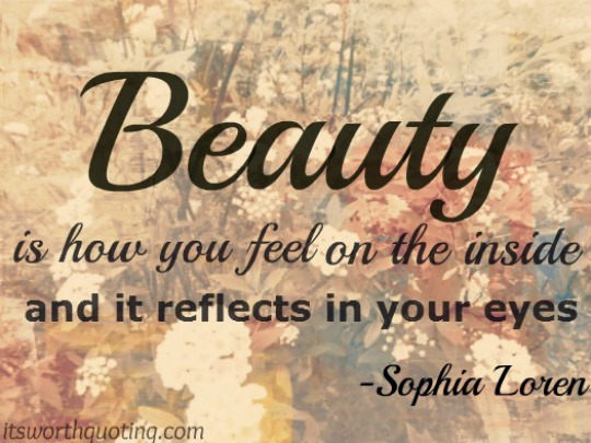 Charming Beauty Quotes