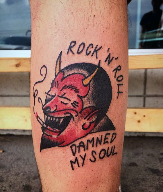 Charming Devil Tattoo