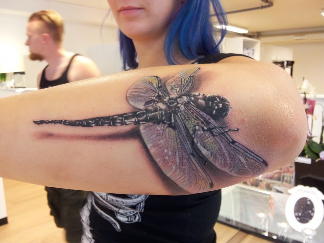 Charming Dragonfly Tattoos Ideas
