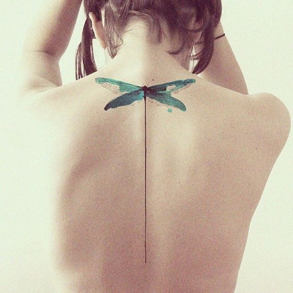 Cool Dragonfly Tattoo