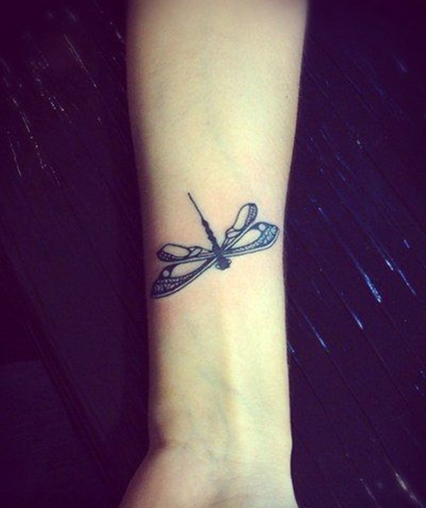 Cool Dragonfly Tattoos Design