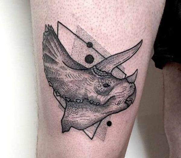 Cute Dotwork Tattoos Design