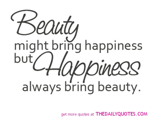 Elegant Beauty Saying