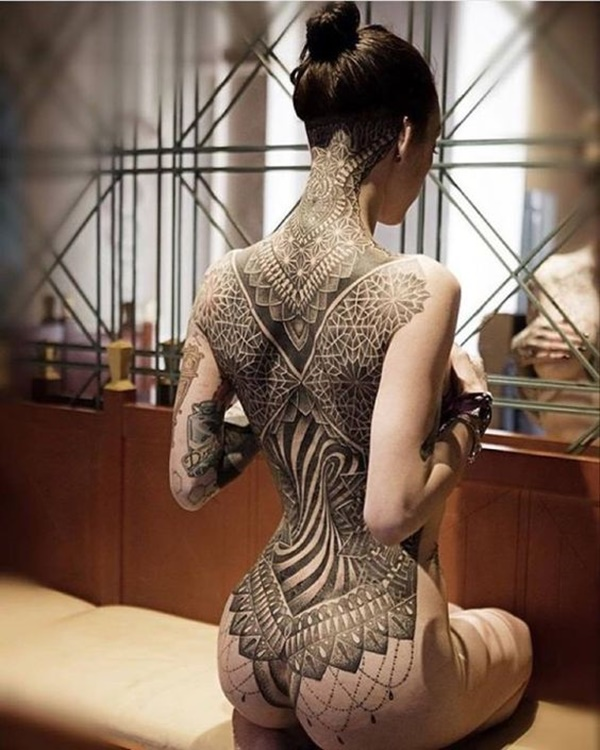 Elegant Dotwork Tattoo