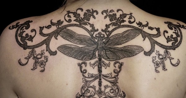 Elegant Dragonfly Tattoo Ideas