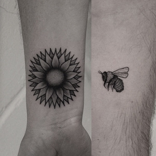 Exclusive Couple Tattoo Design