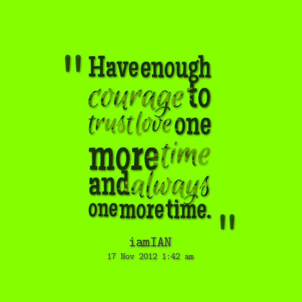 Exclusive Courage Sayings