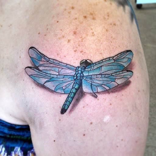 Exclusive Dragonfly Tattoo Ideas