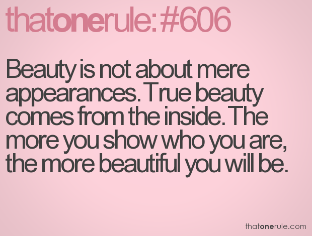 Extreme Beauty Sayings