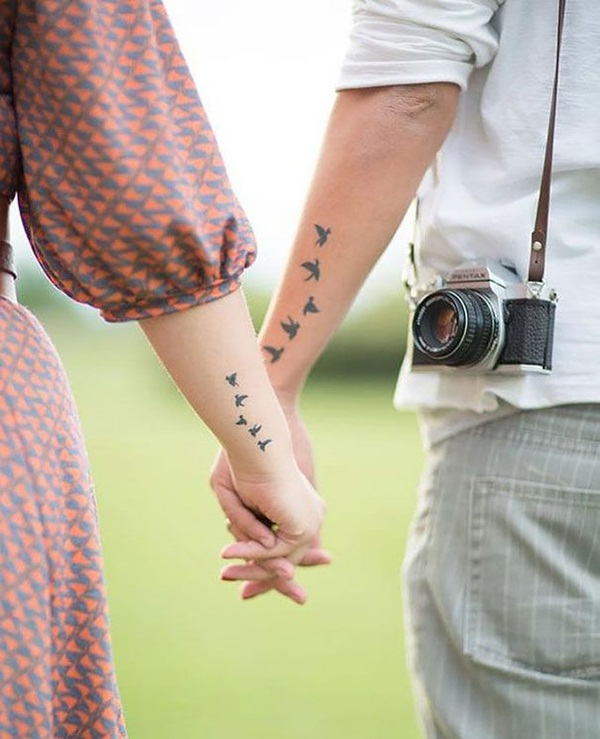 Extreme Couple Tattoo Design