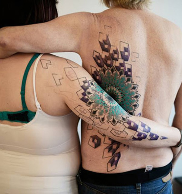 Extreme Couple Tattoo