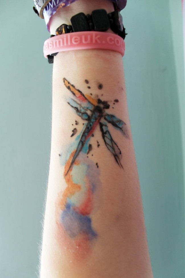 Extreme Dragonfly Tattoos Ideas