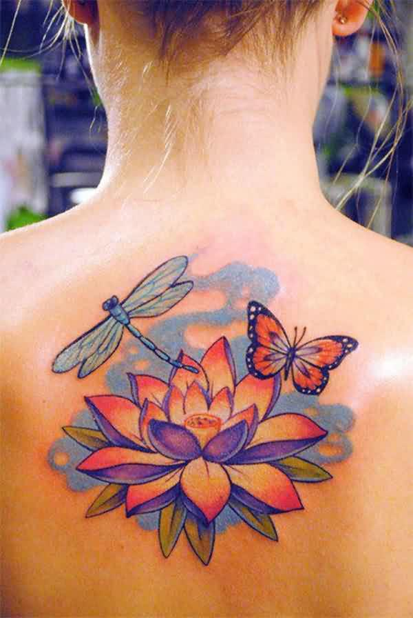 Extreme Dragonfly Tattoos