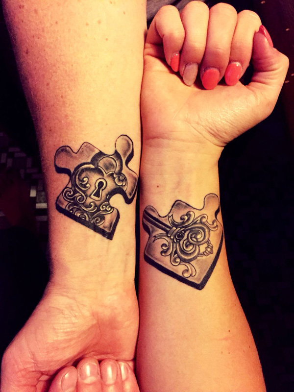 Fabulous Couple Tattoos