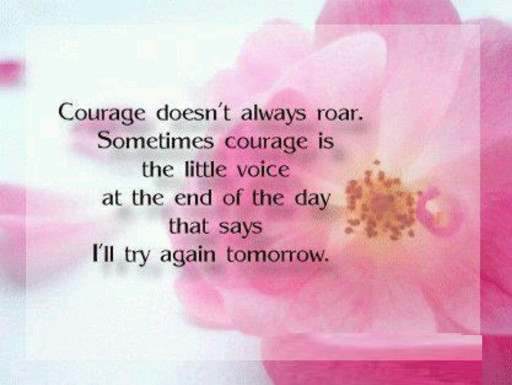 Fabulous Courage Sayings