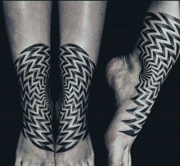 Fabulous Dotwork Tattoo Design