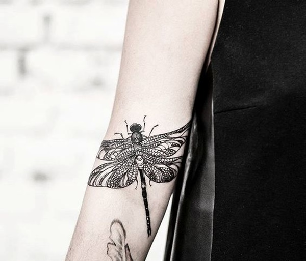 Fabulous Dragonfly Tattoos Designs