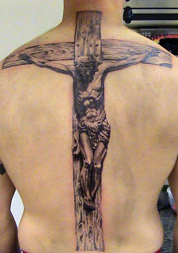 Fantastic Cross Tattoo Design