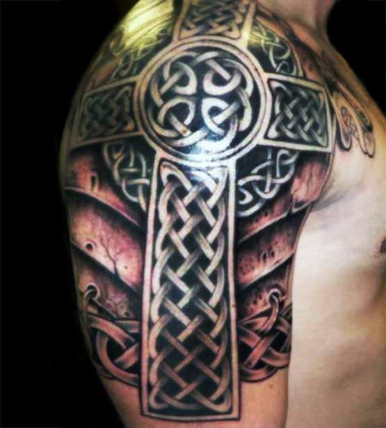 Fantastic Cross Tattoo Designs