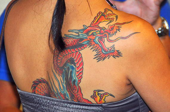 Fantastic Dragon Tattoos Design