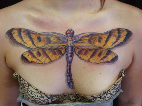 Fantastic Dragonfly Tattoos Design