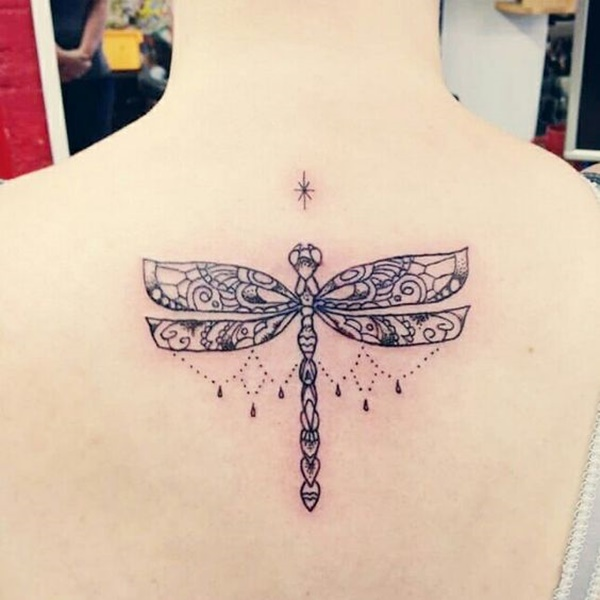 Fantastic Dragonfly Tattoos Designs