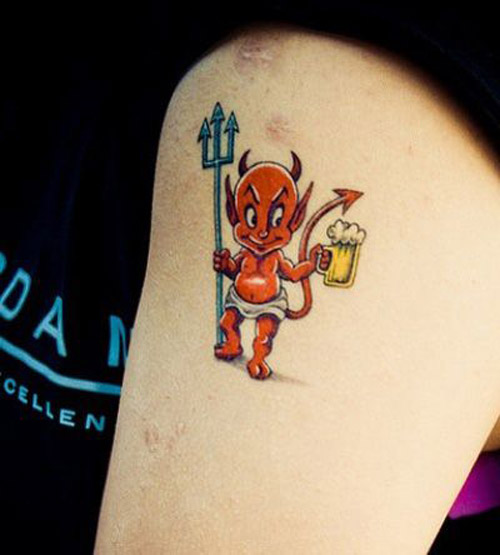 Good Devil Tattoos Designs