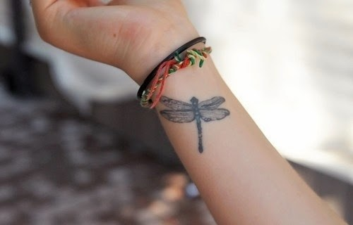 Good Dragonfly Tattoo Idea