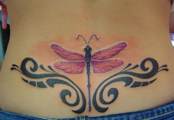 Good Dragonfly Tattoos Designs