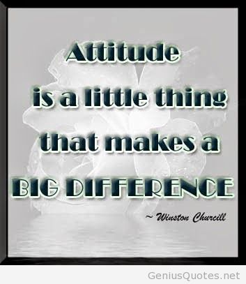 Incredible Attitude Sayings and Quotation