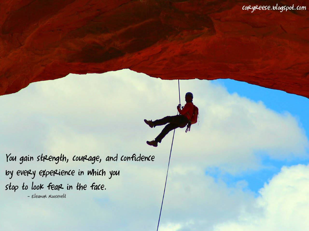 Incredible Courage Quotations