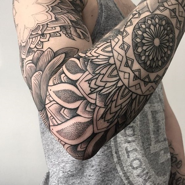 Incredible Dotwork Tattoo