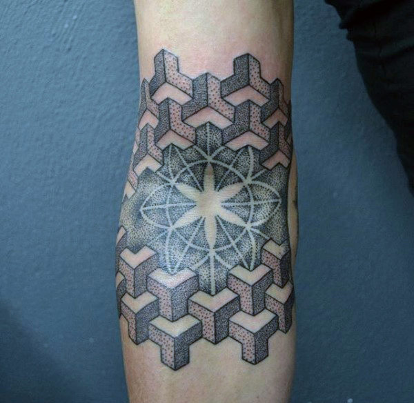 Incredible Dotwork Tattoos Ideas
