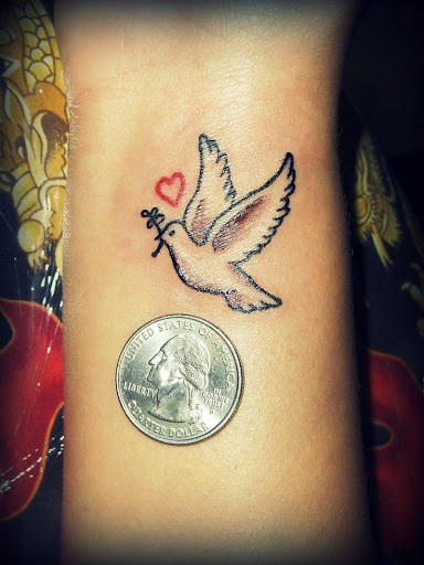 Incredible Dove Tattoo Designs