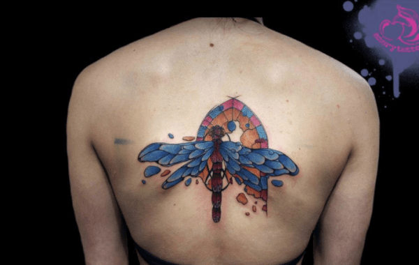 Incredible Dragonfly Tattoos Designs