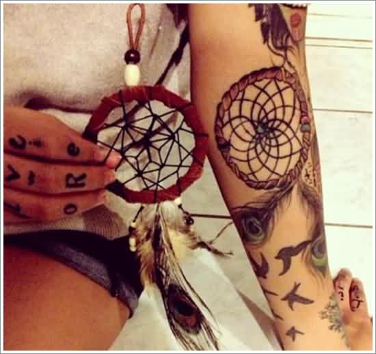 Incredible Dreamcatcher Tattoos