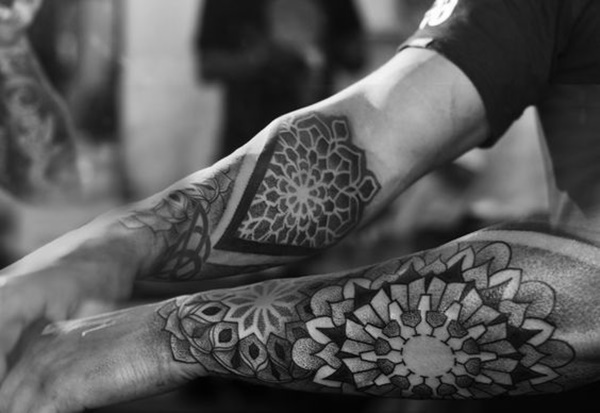 Latest Dotwork Tattoos Ideas