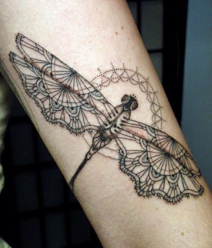 Latest Dragonfly Tattoo Ideas