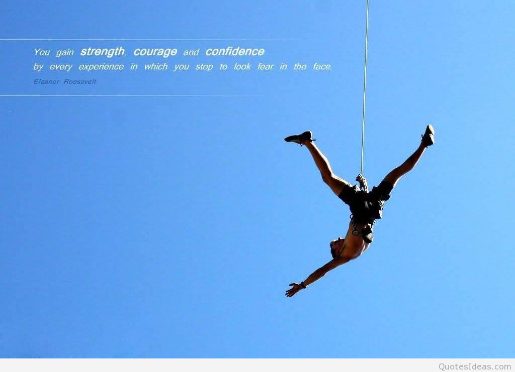 Marvelous Courage Quotation